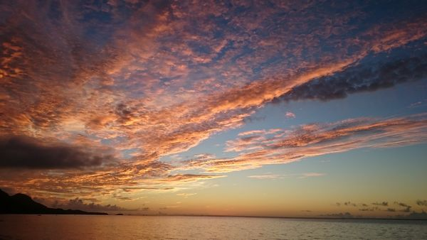 東に位置する港。朝日がきれいです。