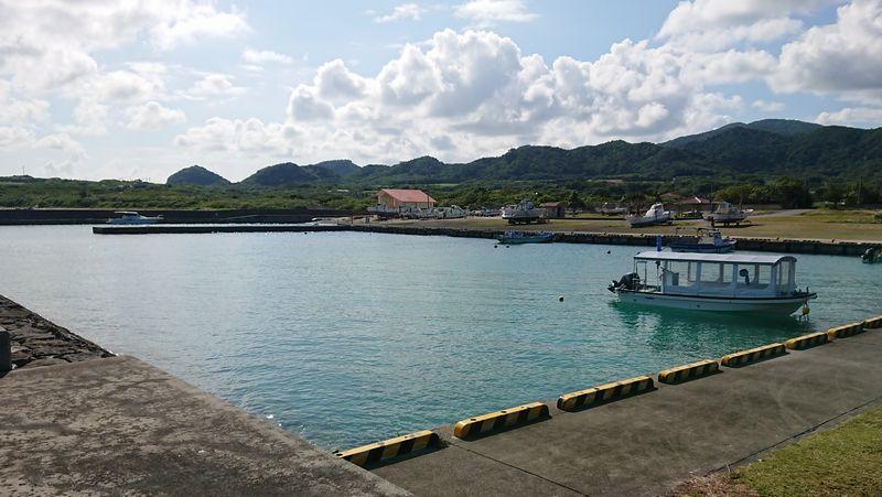 のどかな伊野田漁港