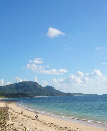 伊野田のビーチ