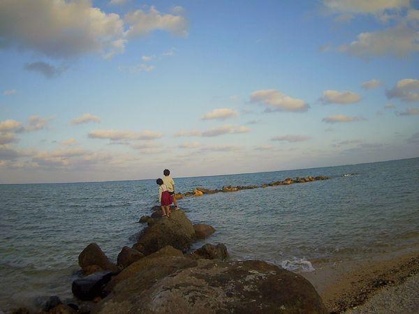 海を独り占めです♪