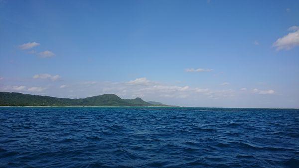 晴れ間の登場の石垣島です。