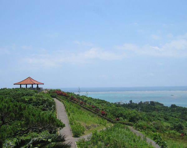 石垣島東海岸を一望、玉取崎展望台