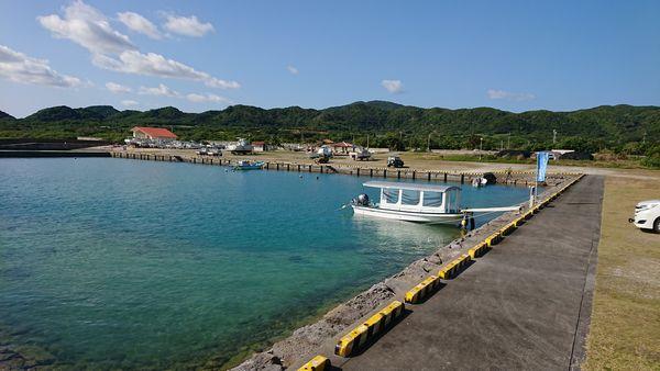 日中は晴れの石垣島です