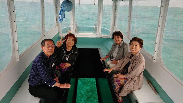 石垣島のベテランH川さんご一行です。