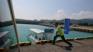 グラスボート、水中観光船、のご紹介『走れ!シロハラクイナ号』