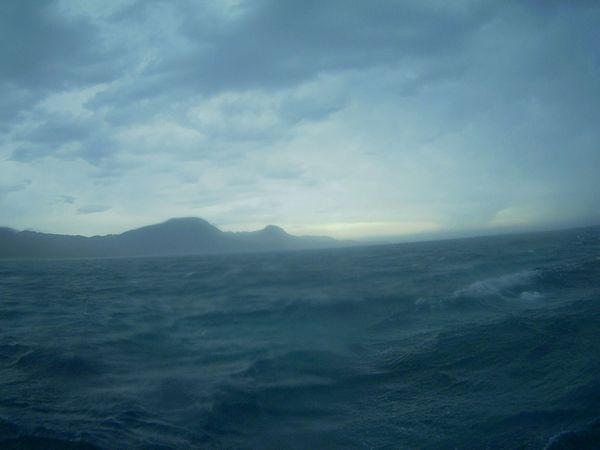 波が高い海。。