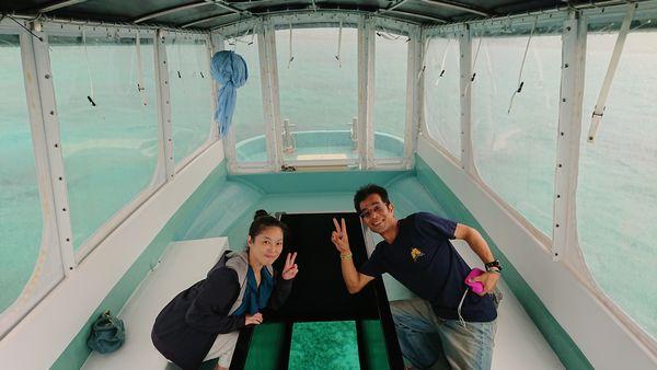 石垣島在住、観光業のご夫婦です