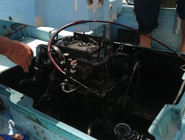 超レトロなエンジン