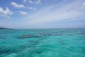 石垣島旅行、観光のプラン、夕方のアクティビティにグラスボート