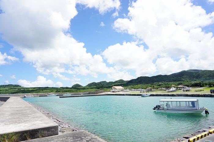 石垣島は夏空です