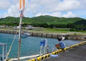 石垣島の海と空は絶好調!グラスボート出港です!