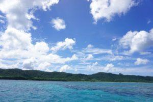 夏空、夏雲!石垣島は夏色!グラスボートで夏体験