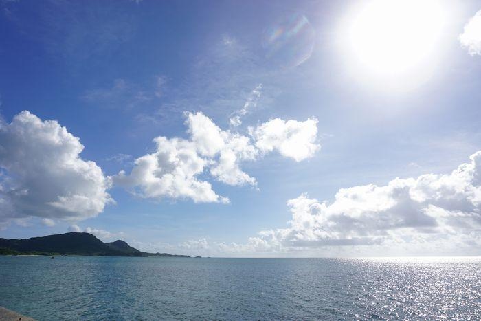 石垣島は本日も快晴です。