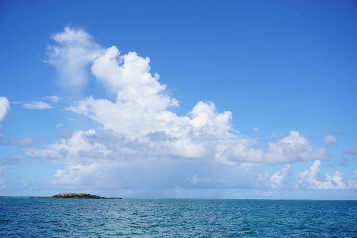積乱雲、夏雲の特徴です