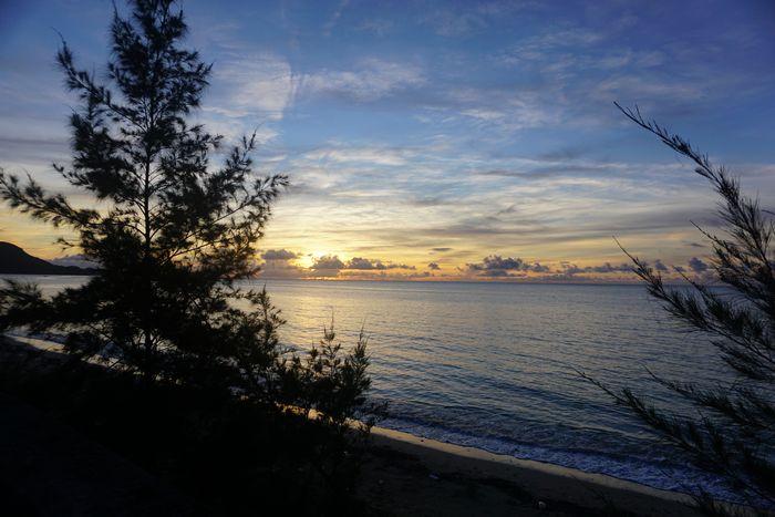 朝日を海で眺めてみませんか?