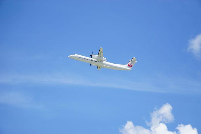 石垣空港に到着!さぁ観光を楽しみましょう