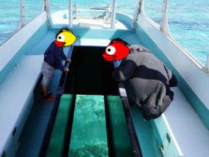 晴れたタイミングでエメラルドグリーンの海を楽しむ♪