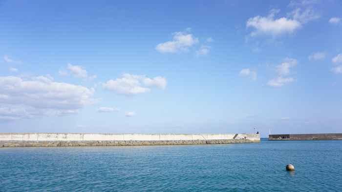 17時の石垣島はまだ明るい