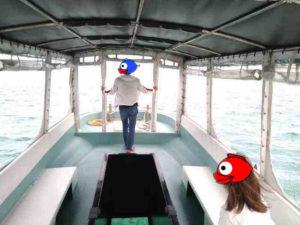 初めての石垣島でグラスボート!