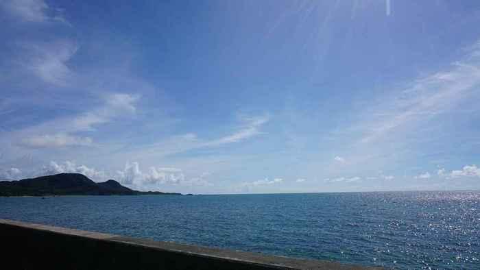 石垣島の天気は絶好調、グラスボート日和です