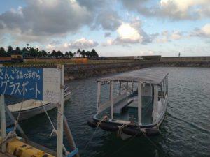夕方6時の石垣島はまだ明るい!グラスボートは涼しくてよい時間です!8月15日から出港状況ブログ