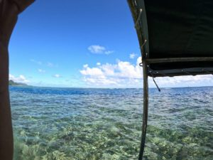 石垣島旅行最終日、フライト前のグラスボート